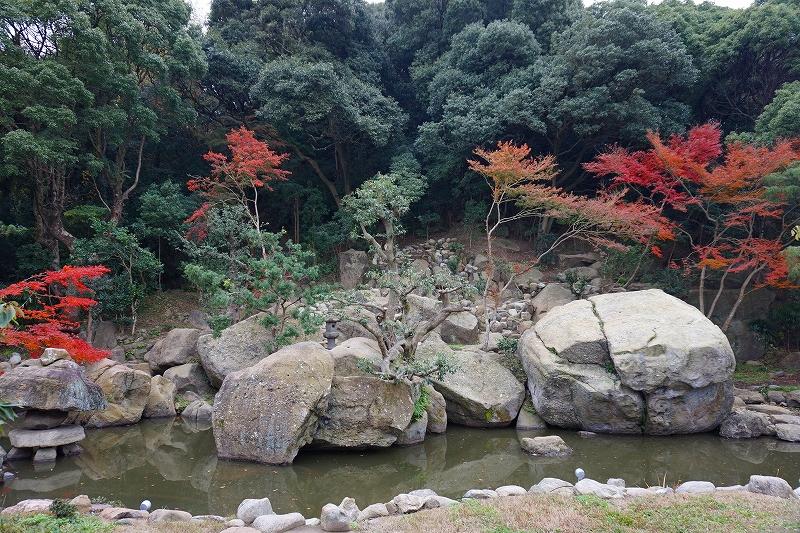 旧益習館庭園